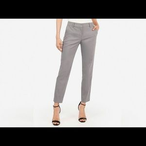 Express Editor Cropped Pants